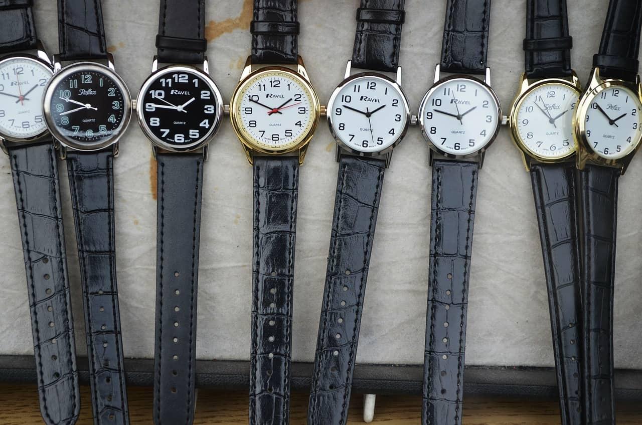 סוגים שונים של שעונים